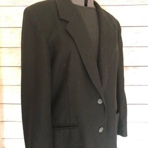 Vintage 100% Wool Hunt Club blazer size 18W